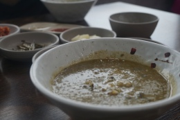 The famous abalone porridge. Despite its dull and non-instagram-worthy appearance, it was steamingly good and comforting, especially on cool days.