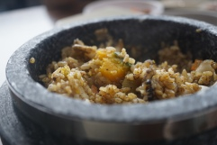 And wholesome cos it has chunks of pumpkin giving the rice a lift in taste with its natural sweetness