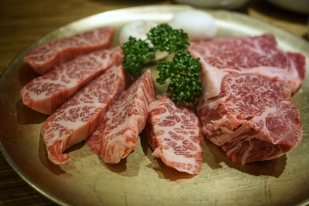 the good stuff!! Check out the marbling!