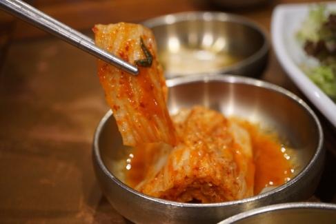 more kimchi banchan