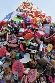 Locks of love here!